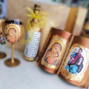 Подаръчен комплект с икона