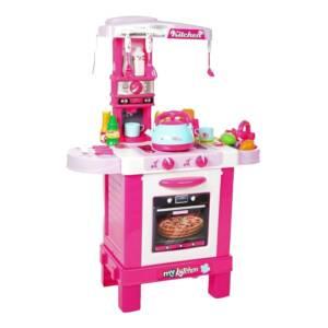 детска кухня розово